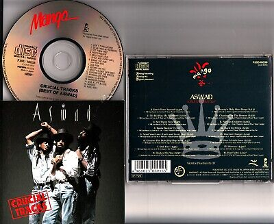 ASWAD Crucial Tracks JAPAN CD P30D-10038 MANGO 1989 The Best of/Greatest Hits NM