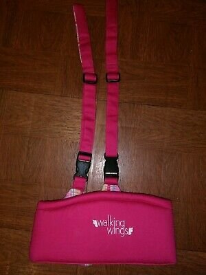 Upspring Baby Walking Wings Learning To Walk Assistant Pink