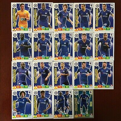 Panini Adrenalyn Xl Premier League 2019/20 Chelsea Base/Hero Buy 3 Get 7 Free