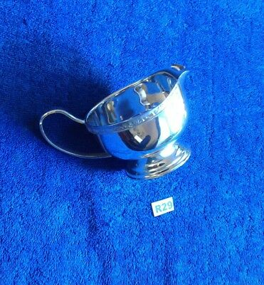 Viners Vintage Silver Plated Milk Jug