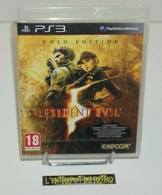 ++ jeu playstation 3 PS3 resident evil gold edition NEUF sous blister ++
