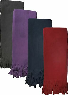 Ladies Thermal Thick Warm Winter Fleece Scarves