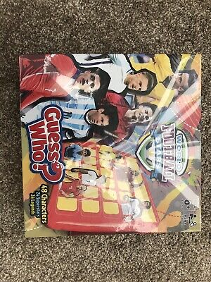 Guess Who World Football Stars - Still In Plastic Wrap. Never Used.