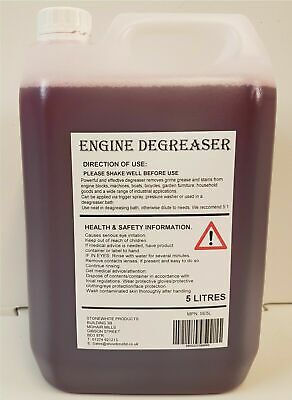 Ultra Engine Degreaser Spray Cleaner Car Grease Dirt Remover 5 Litre