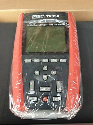 Sealey TA330 Hand-Held Automotive Single Channel Oscilloscope and Multimeter
