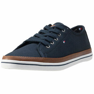 Tommy Hilfiger Kesha 6d Womens Midnight Navy Casual Trainers
