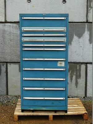 LISTA 11 Drawer Industrial Tool Storage Chest , Cabinet