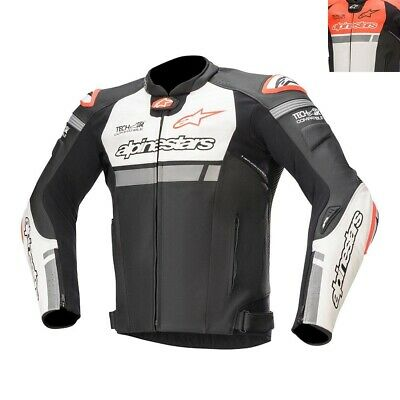 NEW Alpinestars Missile Ignition Leather Sports Motorcycle Jacket (Tech-Air Comp