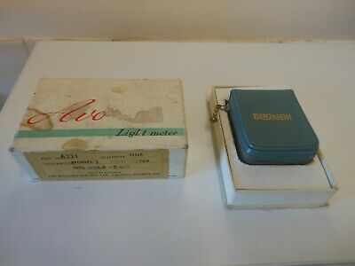 old benjamin avo light meter,,,,,,,116