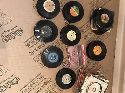 """Job Lot Over 250  7""""  Vinyl Records JOBLOT Varied Artists And Condition Bargain"""