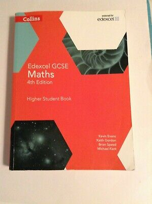 COLLINS - EDEXCEL GCSE MATHS 4th EDITION - HIGHER STUDENT - PAPERBACK BOOK