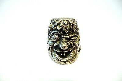 Thimble Pewter Tinn-Per Norway A Troll Excellent Details