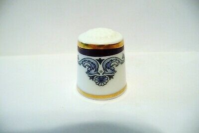 "Thimble Fine China Royal Doulton The First Collection '94 ""Princeton"" Htf"