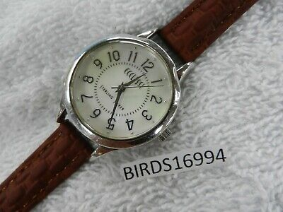 Read Ecclissi 23180 Sterling Silver Mother Of Pearl Face Watch New Batt & Band