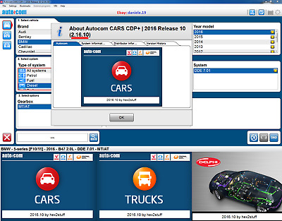 🔥 AUTOCOM  > 2016 Release 10 <  NEW NEW NEW UPDATE CARS / TRUCK + VIDEO.!