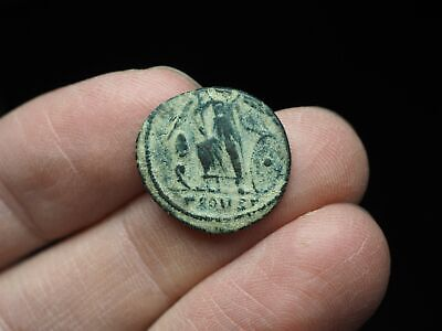 Anonymous City Commemorative. AD 330-354. Æ Follis, Pine tree in field, Arles