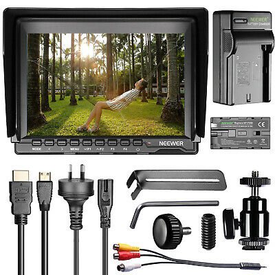 Neewer NW759 7-inch 1280x800 IPS Screen Camera Field Monitor Kit
