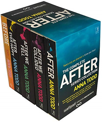 The Complete After Series Collection 5 Books Box Set by Anna Todd After Ever We