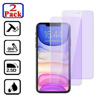 Anti-Blue Light For Apple iPhoneX XS Max 8/7Plus Tempered Glass Screen Protector