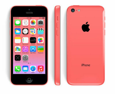 Apple iPhone 5C - 8GB - Pink (Unlocked) Mobile Smartphone Sim Free Grade A UK