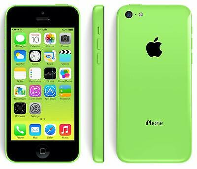 Apple iPhone 5C - 16GB - Green (Unlocked) Mobile Smartphone Sim Free Grade A UK
