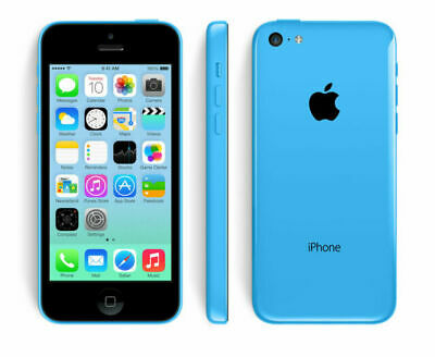 Apple iPhone 5C - 8GB - Blue (Unlocked) Mobile Smartphone Sim Free Grade A UK