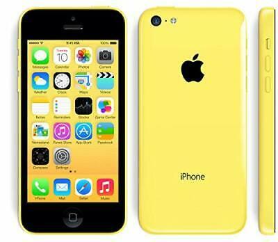 Apple iPhone 5C - 16GB - Yellow (Unlocked) Mobile Smartphone Sim Free Grade A UK