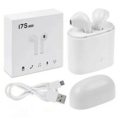 i7s Bluetooth Ecouteur Sans Fil TWS Type Airpods Apple Iphone Android