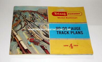 Triang Hornby R166 1966 Edition Track Plan Book. Very Good Condition
