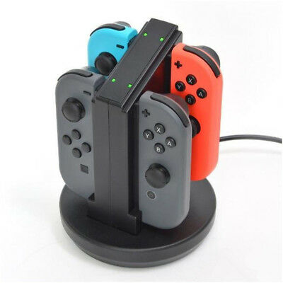 For Nintendo Switch Joy-Con Charging Dock Station Charger with LED indication UK