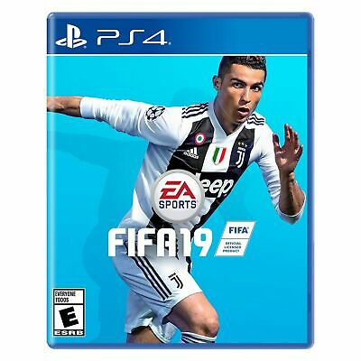 PS4 FIFA 19 Soccer Futbol 2019 New & sealed REGION FREE Plays on all PS4's
