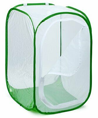"""RESTCLOUD 36"""" Large Monarch Butterfly (24x 24 X 36 Inches Tall (White + Green))"""