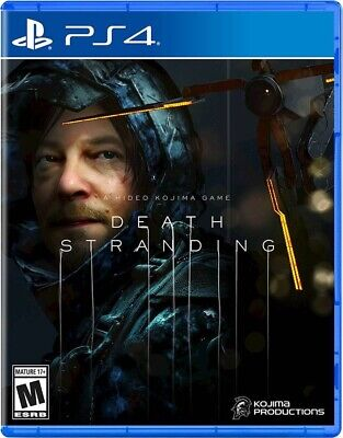PRESALE Death Stranding Standard Edition Playstation 4 PS4 Brand New Sealed
