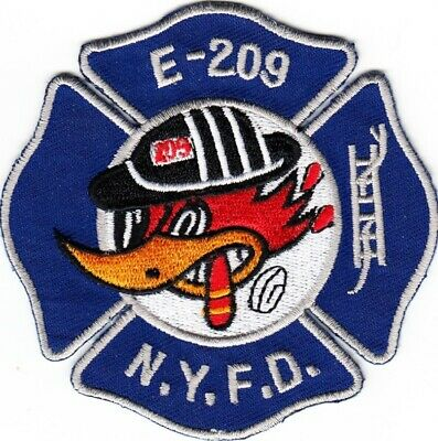 NEW YORK  -  NEW YORK CITY  FIRE  DEPARTMENT   ENGINE  209    Patch