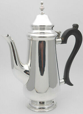 Gleaming Vintage Coffee Pot - Silver Plated - Epns