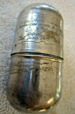 Quack Oxydonor Victory 1890 Antique Metal Capsules - Dr. Sanche