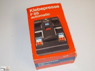 Agfa Press Foil Film Press for 8S for Super-8 Cine-Film with Adhesive Foil