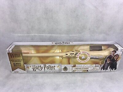 Harry Potter Lord Voldemort Wizard Training Wand 11 Spells NEW Sealed