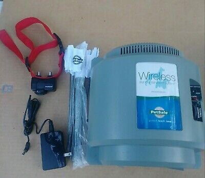 PetSafe Wireless Pet Containment System complete  with Collar . Item is used