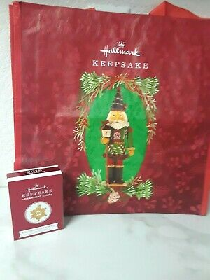 2019 Prince Of The Forest Shopping Bag + 2018 Glistening Gift Hallmark Ornament