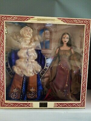 Merlin and Morgan Le Fay barbie doll Limited Edition