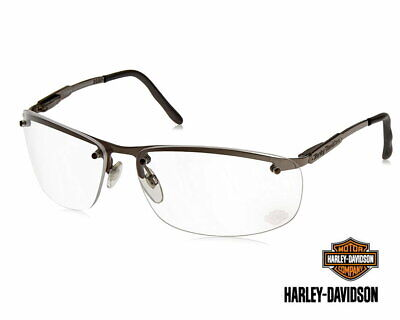 Harley Davidson Metal Sunglasses With Clear Lens Safety Eyewear Glasses