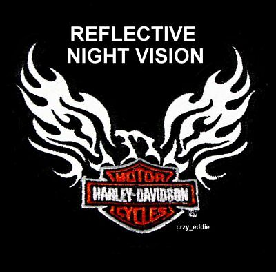 Reflective Harley Davidson Phoenix Patch Discontinued 5 Inch Night Vision