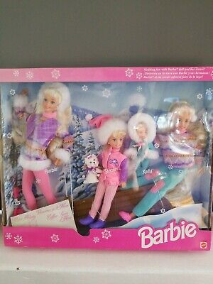 Winter holiday barbie Giftset