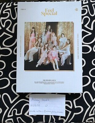 TWICE 8th Mini Album Feel Special - Version A with CD Plate & Lyric Book