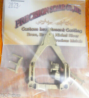 Precision Scale S #2823 Trailing Truck, Commonwealth, Type 1 (Brass Castings)