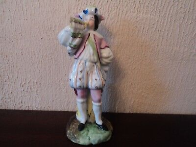 Vintage Signed Early Hand Painted/Crafted Bandsman - Unusual.