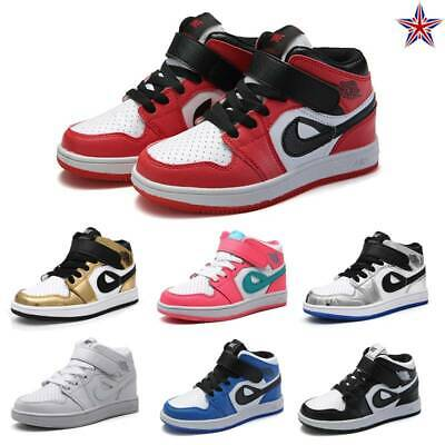 Kids Skate Shoes Girls Boys Sports Sneakers Casual Walking Trainers School Shoes
