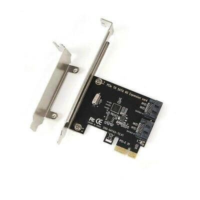 PCIe PCI Express to Two SATA3.0 SATA III Expansion Controller Adapter