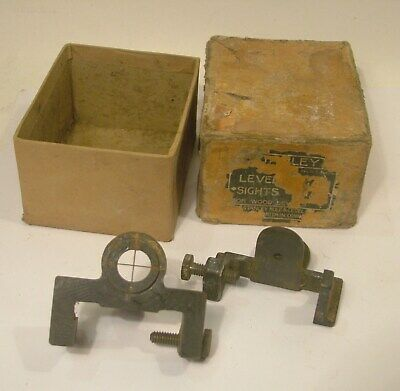 Stanley No.1 Level Sights with box